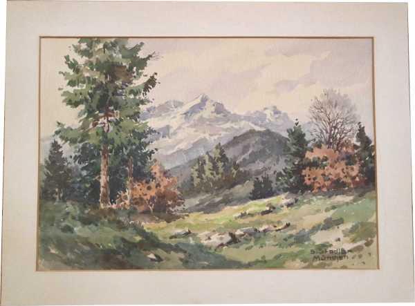 benno stadler 1908 m nchen alpspitze eckbauer herbst. Black Bedroom Furniture Sets. Home Design Ideas